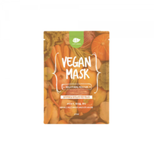 happy vegan sheet mask brightening moisture