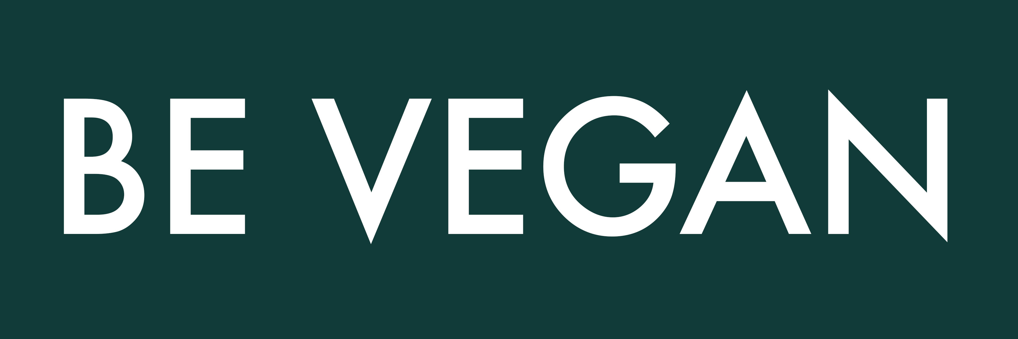logo be vegan